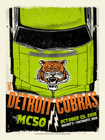 Detroit Cobras and MC50