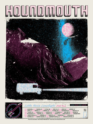 Houndmouth 2015 Tour – Blue
