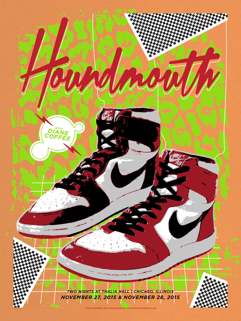 Houndmouth – Chicago Jordans, Orange