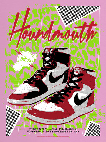 Houndmouth – Chicago Jordans, Pink