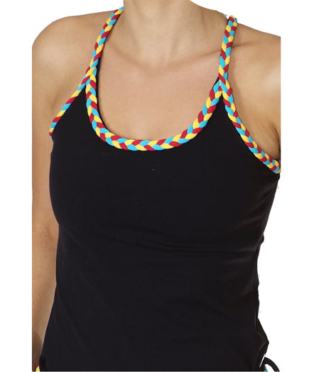 Braid Multicolor Exercise Tank