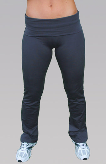 Fold Over Exercise Pants