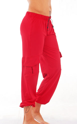 Marisol Cargo Pants II *Red