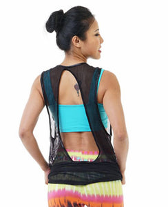 The Perfect Open Back Tank II *Mesh
