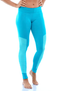 MESH PANEL WORKOUT LEGGINGS