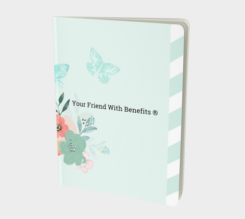 Butterfly Watercolour Notebook - www.yourfriendwithbenefits.ca