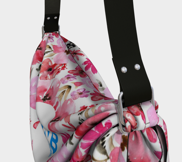Origami Tote Bag - Red Cherry Blossom