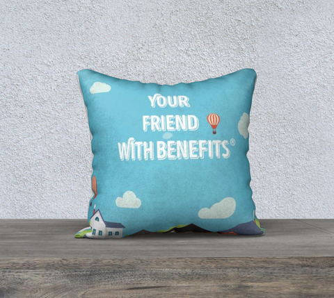 Friends With Benefits Pillow - www.yourfriendwithbenefits.ca