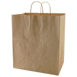 Natural Kraft Shopping Bag Lion - 14 x 9.5 x 16.25 x 9.5