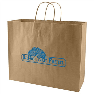 Natural Kraft Shopping Bag Jaguar - 16 x 6 x 13 x 6