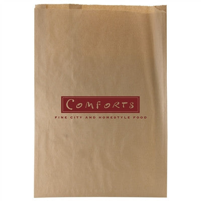 Natural Kraft Paper Merchandise Bag  - 16.5 x 3 x 24