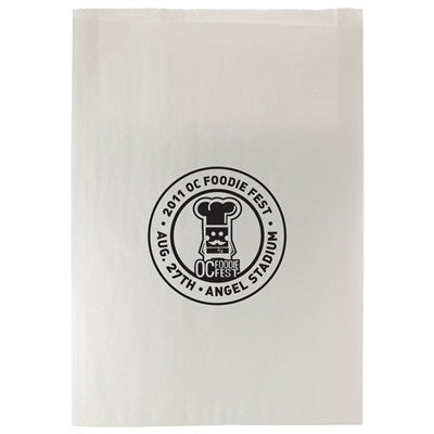 White Paper Merchandise Bag  - 16.5 x 3 x 24