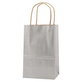 Precious Metals Kraft Shopping Bag Toucan - 5.5 x 3.25 x 8.375 x 3.25