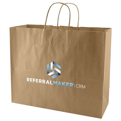 100 % Recycled Natural Kraft Bags
