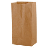 Natural Kraft SOS Bag #4 - 5 x 3.125 x 9.75