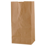 Natural Kraft SOS Bag #8 - 6.125 x 4 x 12.375