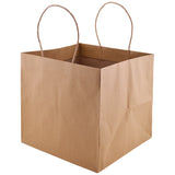 Wide Gusset Takeout Bag - Natural