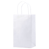 White Kraft Shopping Bag Toucan - 5.5 x 3.25 x 8.375 x 3.25