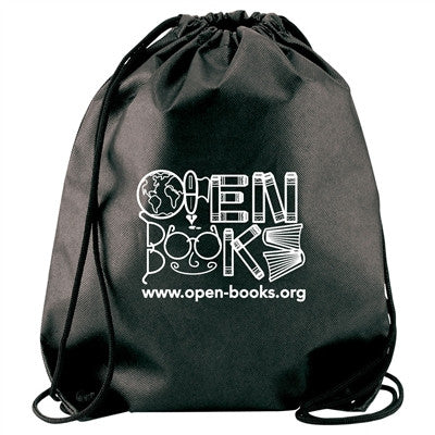 Non-Woven Cynch Backpack Bag  - 13 x 16, Drawstring