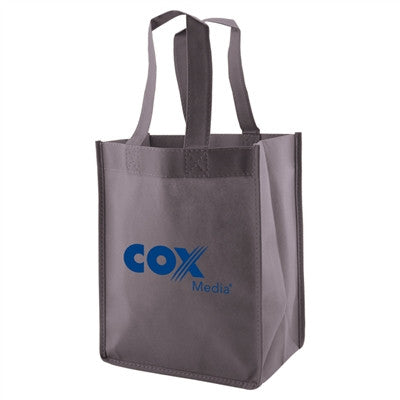 "Non-Woven Standard Tote Bag - 8 x 5 x 10 x 5, 14"" Handle"