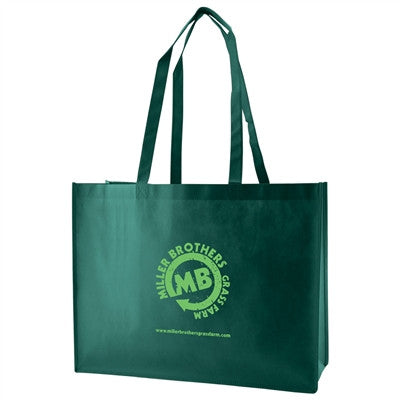 "Non-Woven Standard Tote Bag - 16 x 6 x 12 x 6, 28"" Handle"