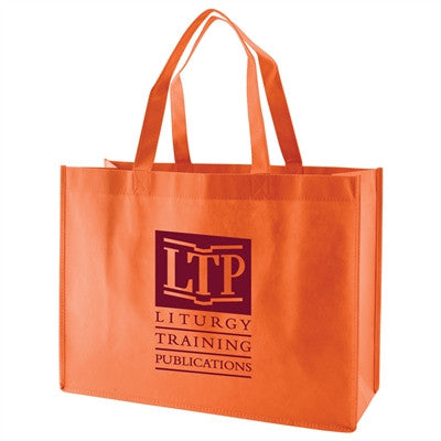 "Non-Woven Standard Tote Bag - 16 x 6 x 12 x 6, 18"" Handle"