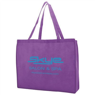 "Non-Woven Standard Tote Bag - 20 x 6 x 16 x 6, 28"" Handle"