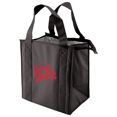 "Non-Woven Thermo Bag  - 12 x 8 x 13 x 8, 20"" Handle"