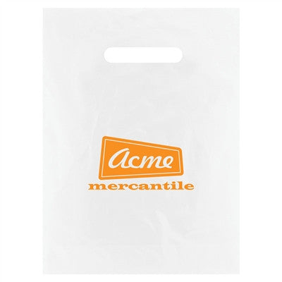 Clear Frosted Merchandise Bag - 9 x 12