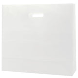 Clear Frosted Die Cut Tote Large - 16 x 6 x 15 x 6