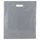 Light Gray Patch Handle Bag Large - 16 x 18 +4