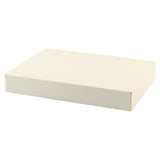 White Gloss Apparel Box - 10 x 7 x 1.25