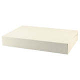 White Gloss Apparel Box - 17 x 11 x 2.5