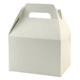 White Gloss Gable Box - 6 x 4 x 4