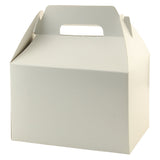 White Gloss Gable Box - 9.5 x 5 x 5