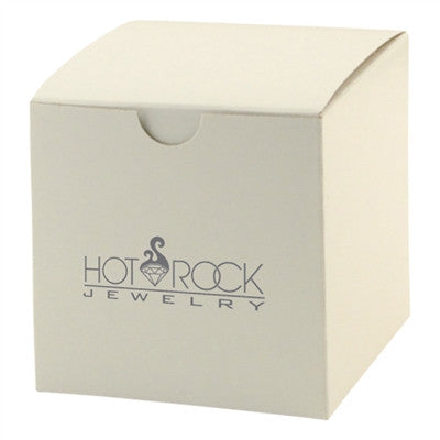 White Gloss Tuckit Box - 4 x 4 x 4