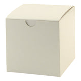 White Gloss Gift Box - 4 x 4 x 4