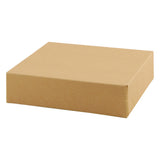 Natural Kraft Gift Box - 6.5 x 6.5 x 1.625