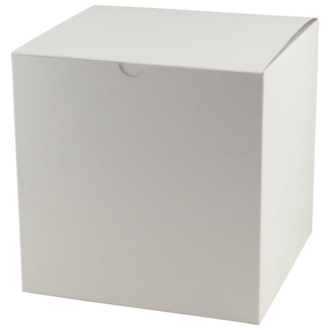 White Gloss Gift Box - 9 x 9 x 9
