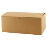 Natural Kraft Gift Box - 10 x 5 x 4