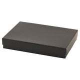 Black Jewelry Boxes - 5.25 x 3.75 x 0.875