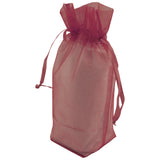 "Gusseted Organza Bag - 5.5"" x 2.5"" x 8"""