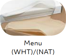 "Food Service Tissue - Menu Tissue - White & Natural - 12"" x 12"""
