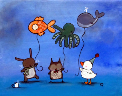 Andrea Doss Balloon Animals