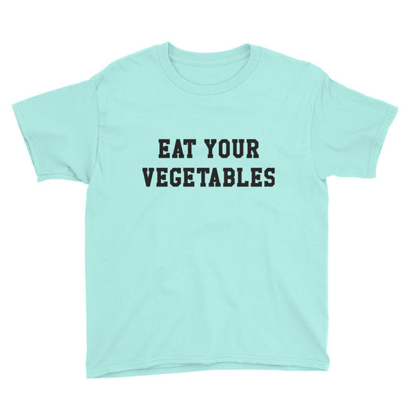 Boy's - Eat Your Vegetables - Tee