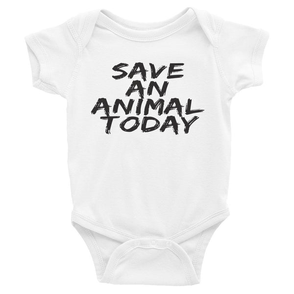 Infant - Save An Animal Today - Onesie - Supporting Animal Defenders International