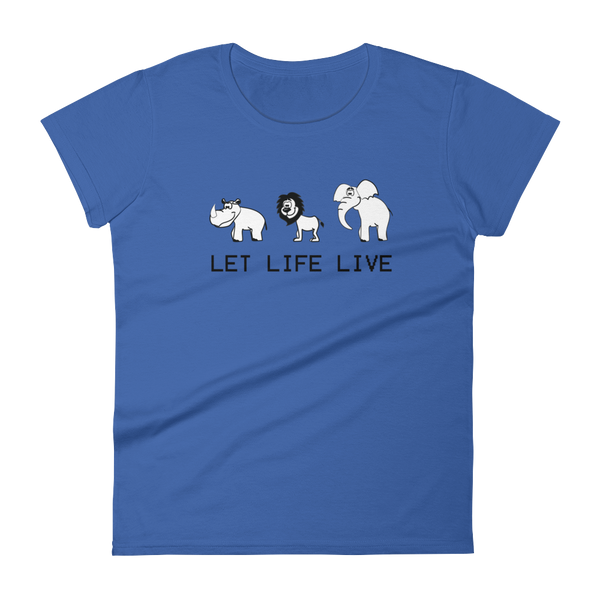 Endangered Animals Let Life Live - T-shirt