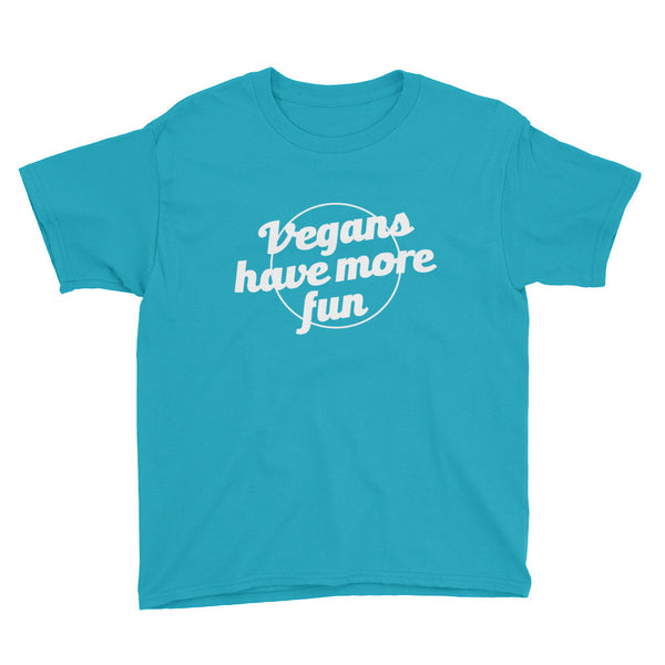 Boy's - Vegans Have More Fun - Tee