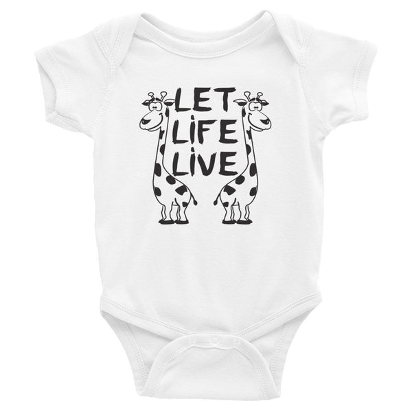 Infant - Giraffes - Onesie