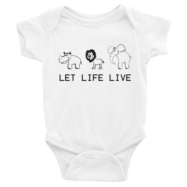 Infant - Let Life Live - Onesie